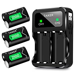 Best  Xbox One Battery & Charger Sets